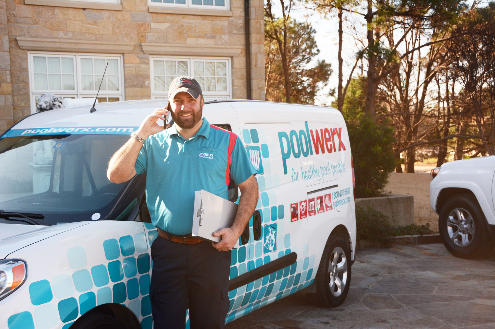 Mobile Franchise with Poolwerx